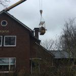 Vervanging schoorsteenplaat